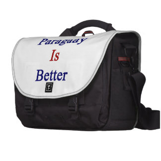 F You Paraguay Is Better Laptop Bag