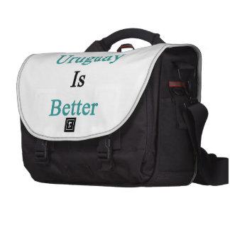 F You Uruguay Is Better Laptop Messenger Bag