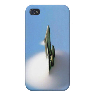 FA-18 Hornet Breaking Sound Barrier iPhone 4/4S Cover
