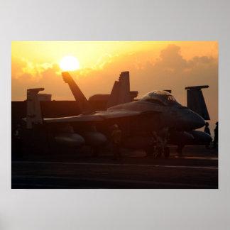 FA-18 Super Hornet Poster