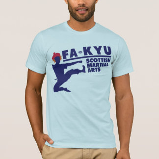 FA-KYU: Scottish Martial Arts T-Shirt