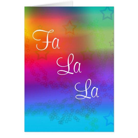 Fa La La Card