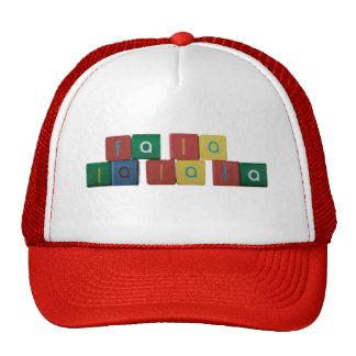fa la la la la hat