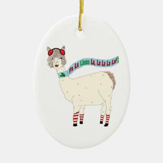 Fa La Llama La Christmas Christmas Ornament