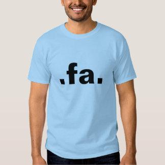 .fa. shirts