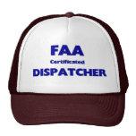 FAA Certificated Dispatcher Mesh Hats