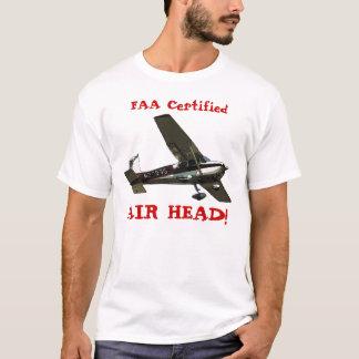 FAA Certified AIR HEAD! T-Shirt