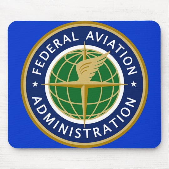 FAA federal aviation administration Mouse Mat