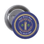 FAA VVV Universal Shield 6 Cm Round Badge