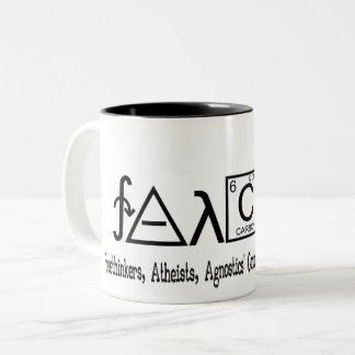 FAACT Atheist group coffe mug