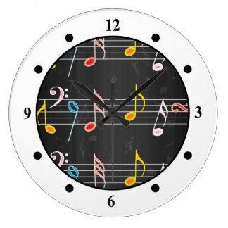 Fab Music Notes on Black Clocks