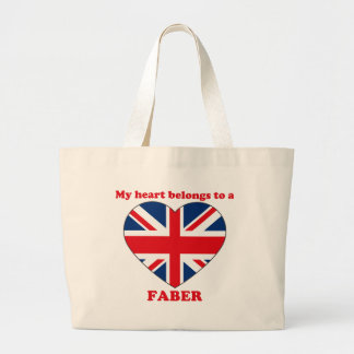 Faber Tote Bags
