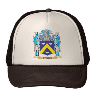Faber Coat of Arms - Family Crest Trucker Hat