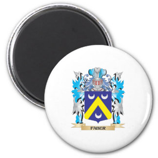 Faber Coat of Arms - Family Crest Fridge Magnets