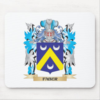 Faber Coat of Arms - Family Crest Mousepads