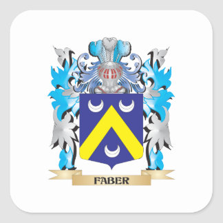 Faber Coat of Arms - Family Crest Sticker