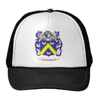 Faber Coat of Arms Mesh Hats