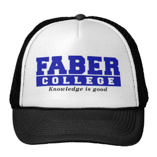 Faber College Knowledge Is Good Trucker Hat