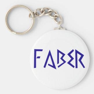 faber craftsman craftsman basic round button key ring