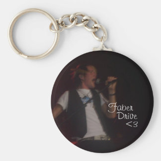 """Faber Drive <3"" keychain"