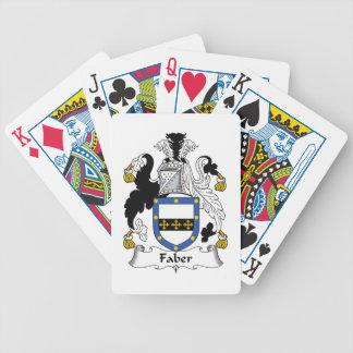 Faber Family Crest Card Decks