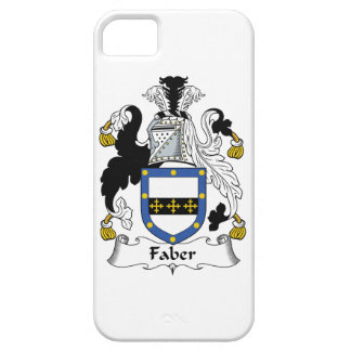 Faber Family Crest iPhone 5 Cover