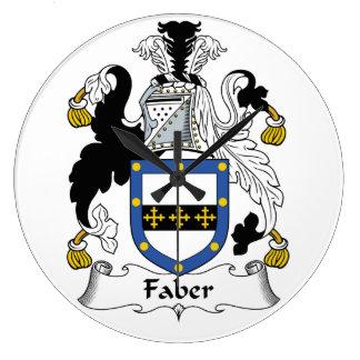 Faber Family Crest Wallclock