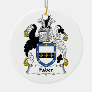 Faber Family Crest Ornaments