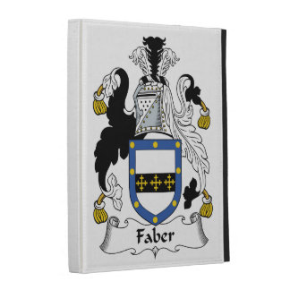 Faber Family Crest iPad Cases