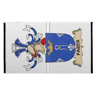 Faber Family Crest iPad Folio Case