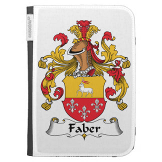 Faber Family Crest Kindle 3 Case
