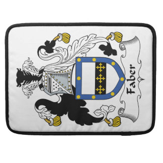 Faber Family Crest MacBook Pro Sleeve