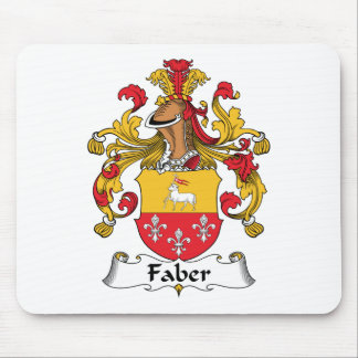 Faber Family Crest Mouse Mat