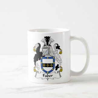 Faber Family Crest Coffee Mugs