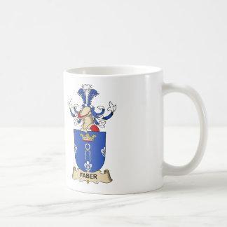 Faber Family Crest Mugs