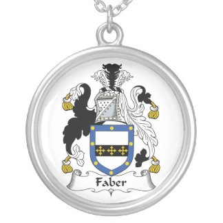 Faber Family Crest Pendants