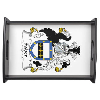Faber Family Crest Serving Trays