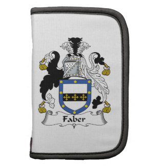 Faber Family Crest Folio Planners