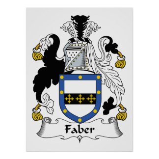 Faber Family Crest Print
