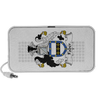 Faber Family Crest iPod Speakers