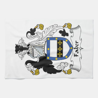 Faber Family Crest Kitchen Towels