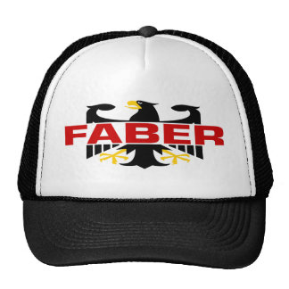 Faber Surname Trucker Hats