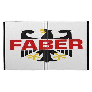Faber Surname iPad Folio Covers