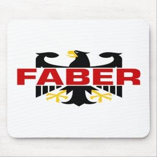 Faber Surname Mousepad