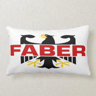 Faber Surname Pillow