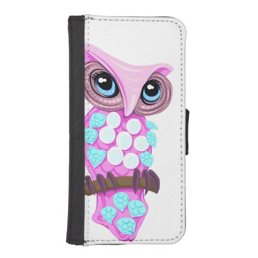 Fable Owl iPhone 5 Wallet Case