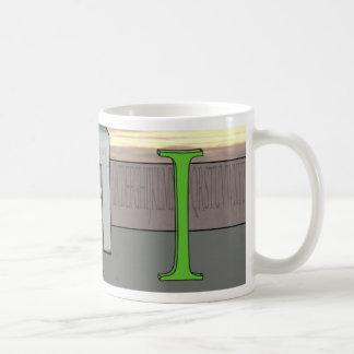 fabled i basic white mug