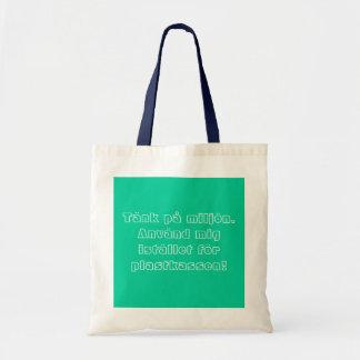 Fabric bag instead for plastic bag
