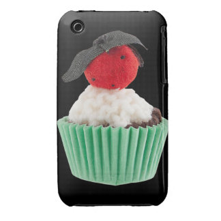 Fabric Cupcake art Blackberry Curve Case-Mate Case