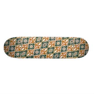 Fabric Decorative Background Skateboards